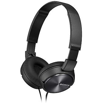 Sony ZX310 Foldable Headphones Metallic Black