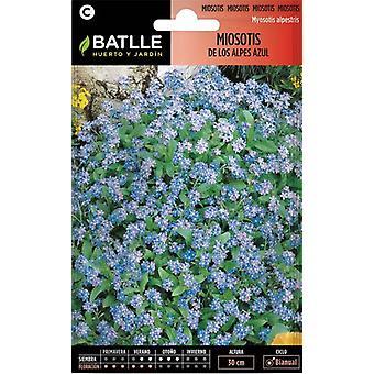 Batlle Dwart Forget Me Not (Myosotis Alpestris) (Garden , Gardening , Seeds)