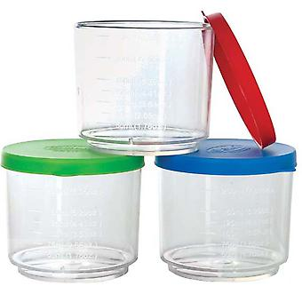 Gowi Toys Educational Measuring Cup with Cover (Pack of 3)