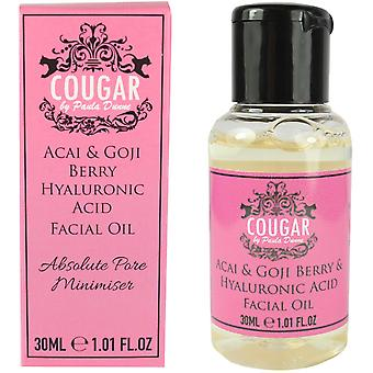 Cougar Acai, goji Berry & hyaluronsyre Facial Oil 30ml