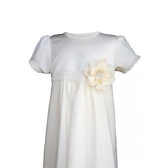 洗礼ドレススウェーデンの恵み - グレースプリンセス - ローズIオフホワイト