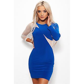 Tia Mesh Bodycon Dress
