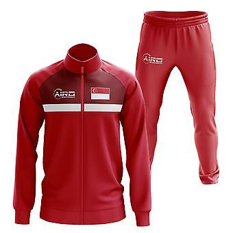 Singapore Concept Fußball Trainingsanzug (Rot)