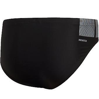 adidas Performance Mens Infinitex Fitness Swimming Trunks Briefs - Black