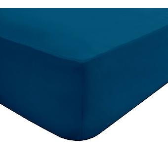 Fitted Bed Sheet Blue - King