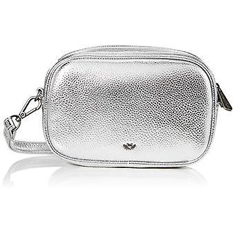 Fritzi aus Preussen Candy Square - Donna Silver Shoulder Bags (Silver) 5.5x20x13 cm (W x H L)