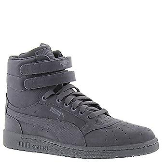 Puma Mens 36420101 NuBuck Hight Top Lace Up Fashion Sneakers