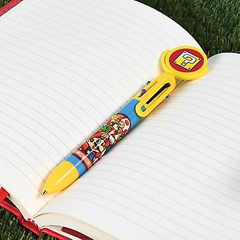 Super Mario Multi Coloured Pen