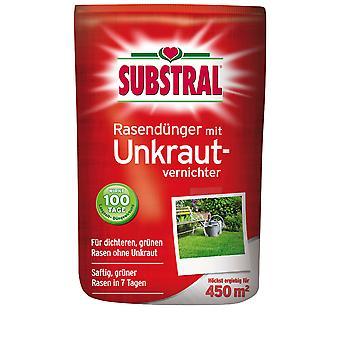 SubstraL® fertilizante de gramado com assassino de ervas daninhas, 9 kg