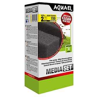 Aquael Recambio Esponja Filtro Asap-700 (2 Uni)