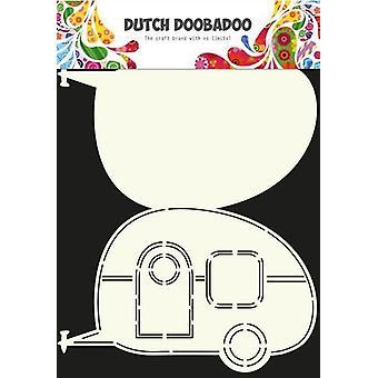 Dutch Doobadoo Dutch Card Art Stencil caravan A4 470.713.601