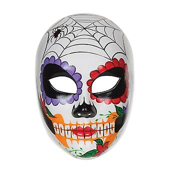 Day of the Dead Plastic Mask
