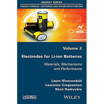 Electrodes for LiIon Batteries Materials Mechanisms and Performance by Monconduit & Laure