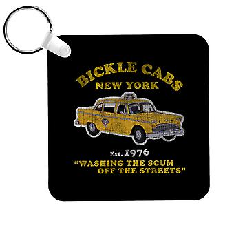 Taxi Driver Bickle Cabs Keyring