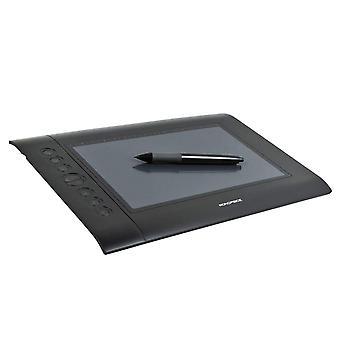 Tablet de desenho gráfico de 10 x 6,25 polegadas (4000 LPI 200 RPS 2048 Níveis) por Monopreço