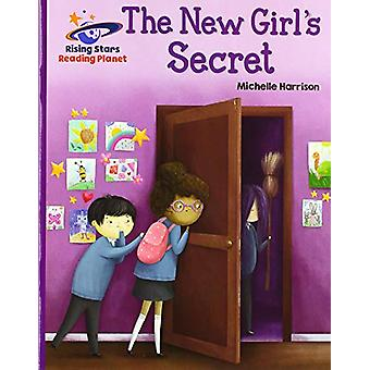 Reading Planet - The New Girl's Secret - Purple - Galaxy by Michelle H