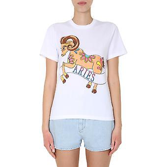 Alberta Ferretti 070401727001 Naisten's Valkoinen Puuvilla T-paita