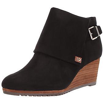 Dr. Scholl's Shoes Women's Create Ankle Boot, Black Microfiber, 9 M US