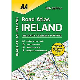 Road Atlas Ireland - 9780749582302 Book