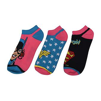 Character Trainer Socks 3 Pack Ladies