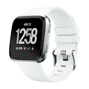 Ersatz Silikon Band Armband Armband für Fitbit Versa 2/Versa Lite/Versa[Small Fits Handgelenk 5.5