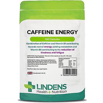 Lindens Caffeine Energy 200mg Capsules 100 (2094)