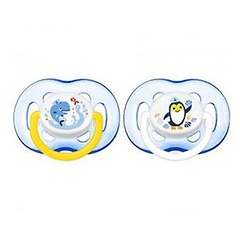 Avent Animal Ventilated Pacifiers +18 Months 2 Units