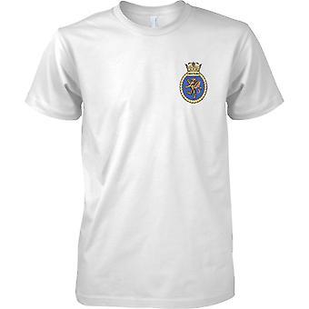 HMS Swiftsure - ausgemusterte Schiff der königlichen Marine T-Shirt Farbe
