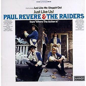 Paul Revere & the Raiders - Just Like Us [CD] USA import