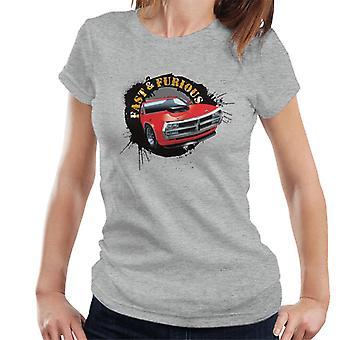 Fast and Furious Car Splatter Women's T-Shirt