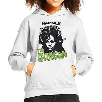 Hammer The Gorgon 1964 Poster Kid's Hooded Sweatshirt