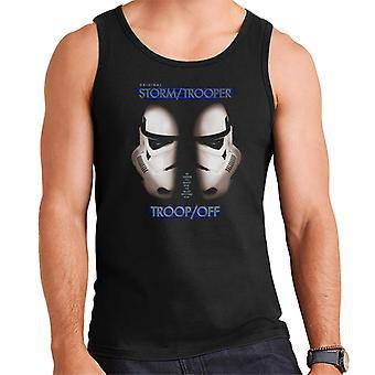 Original Stormtrooper Troop Off Parody For Dark Men's Vest