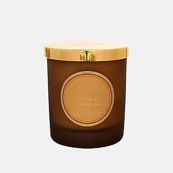 Shearer Candle Medium Scented Christmas Candle Candle Jar with Lid Cocoa & Sandalwood