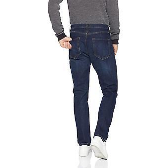 Essentials Men's Athletic-Fit Stretch Jean, Dark Wash, 32W x 32L