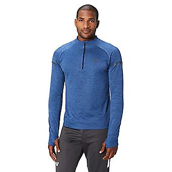 Peak Velocity Men-apos;s Thermal Waffle 'Build Your Own-apos; Athletic-Fit Run Tops (Ho...
