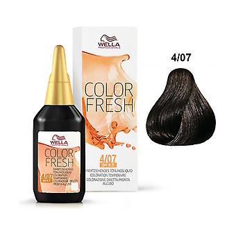Color Fresh 4/07 Semi Permanent Hair Color 75 ml