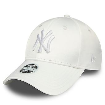 New Era 9Forty Damen Cap - SATIN New York Yankees weiß