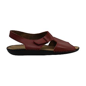 Koe naisten sprite nahka avoin toe rento espadrille sandaalit