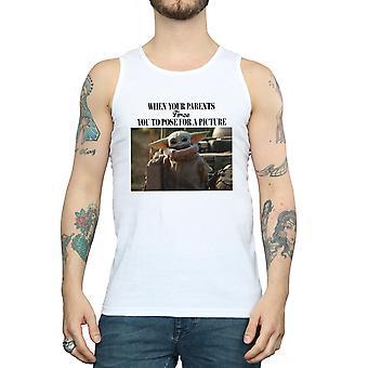 Star Wars Men's The Mandalorian Force Picture Vest