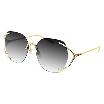 Gucci GG0651S 002 Gold/Grey Gradient Sunglasses