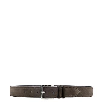 Orciani U07299amalfit Men's Brown Suede Belt