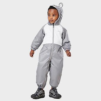 Noul Regatta Kidsă Mudplay Puddle Suit Grey