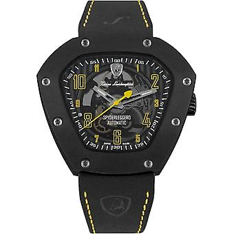 Tonino Lamborghini - Wristwatch - Men - Spyderleggero Skeleton - yellow - TLF-T06-3