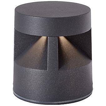 AEG Lamp Winslow LED Outdoor Base Lamp 12cm Antraciet | 1x 8,5 W LED geïntegreerd( 700lm, 3000K) | Schaal A++ naar E | Type IP-beveiliging: