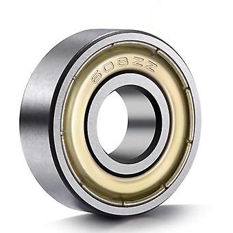 10pcs Double Shielded  Miniature  High-carbon Steel  Single Row Deep Groove Ball Bearing