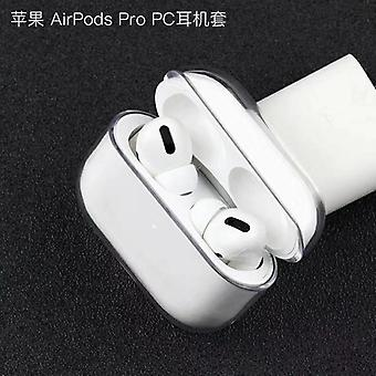 Transparent Wireless Earphone Charging Cover Bag For Apple Airpods 1 2 Pro Cases Hard Pc Bluetooth Box Protective