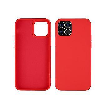 Stöttåligt mobilskal för iPhone 12 Mini Röd