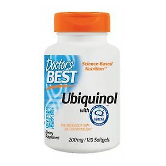 Doctors Best Ubiquinol Featuring Kanekas QH, 200 mg, 120 Softgels