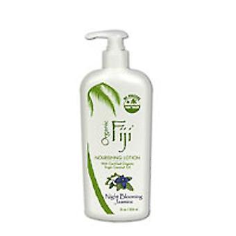 Organic Fiji Nourishing lotion For Face and Body, NightBlooming Jasmine 12 oz