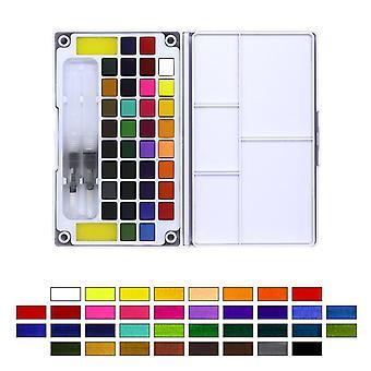Transparent Solid Watercolor Portable Paint For Artist Art Supplies